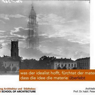 Beitrag Prof. Dr. Frank Bösch (Zentrum für Zeithistorische Forschung, Potsdam) Ästhetik und Versöhnung: Warum die Garnisonkirche aufbauen?