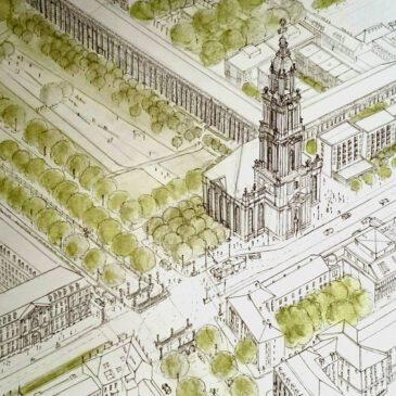 Potsdam mit Garnisonkirche