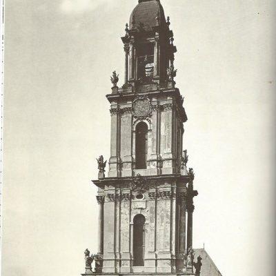 Turm der Garnisonkirche 1938