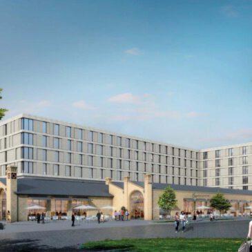 Das große Grausen geht weiter:               Drei neue Hotelblöcke