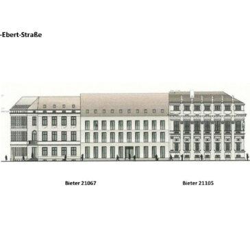 Kombination der Entwürfe Alter Markt Block III
