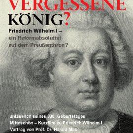 Friedrich Wilhelm der I – ein Reformabsolutist auf dem Preußenthron
