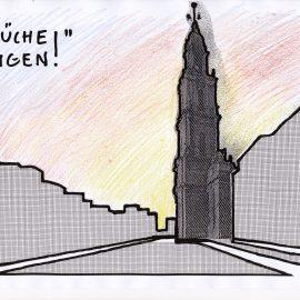 Brüche in Potsdam zeigen