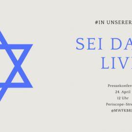Video zu Pressekonferenz des MWFK Brandenburg zum Synagogenneubau