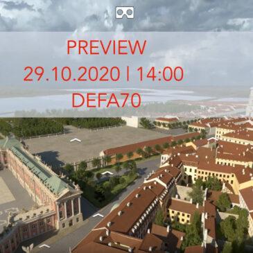 Pressekonferenz LIVE auf FACEBOOK – Der Panoramarundgang